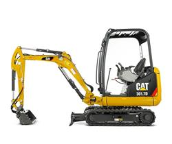 CAT 301.7D - Machines