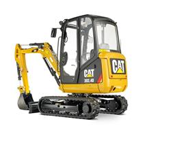 CAT 302.4D - Machines